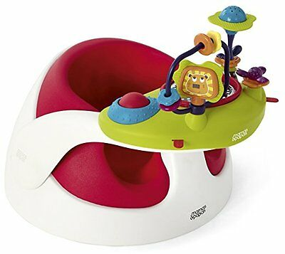 Mamas & Papas 2stage Floor Support Seat With Play Tray 3-12 Month  Red