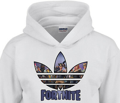 Fortnite Inspired Hoodie Kids Boys Gamer High Quality Hoody Top Xbox Playstation