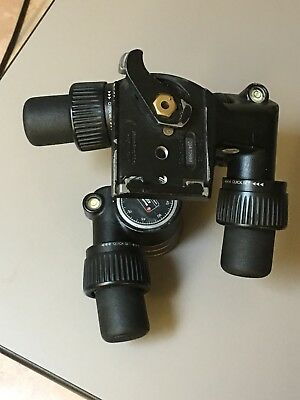 Manfrotto 405 Tripod Head - Damaged but functional.