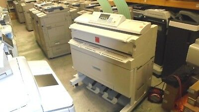 RICOH AFICIO 240W with ROLL FEEDER TYPE 240B with a meter of 8337 EXPORT COPIER