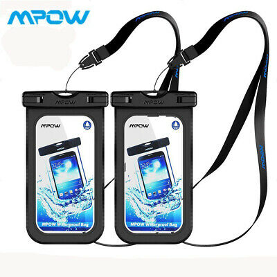 MPOW Waterproof Bag Underwater Pouch Dry Case Cover For iPhone Phone Samsung New