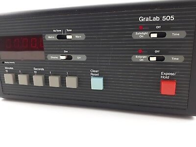 Gralab 505 Digital Darkroom Enlarger Timer