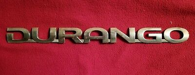 Dodge Durango Logo Decal Emblem Badge Trim Molding Sign OEM