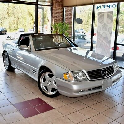2002 Mercedes-Benz SL-Class SL500 AMG Sport 2002 Mercedes-Benz SL500 AMG Sport ONE OWNER Both Tops IMMACULATE 60 Pics