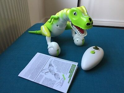 Zoomer Dino Boomer Green Used but in great condition