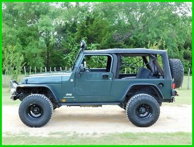 Jeep Wrangler Unlimited 2006 Jeep Wrangler Unlimited LJ, Lifted, Winch, Automatic, Dana 44, 64K Miles