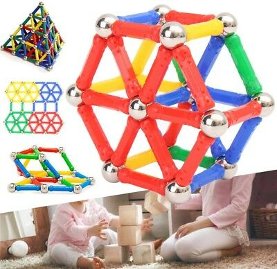 103pcs Educational Magnetic Sticks Building Blocks Toys Set Kids Children Gifts