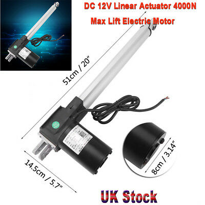 DC 12V Electric Motor Linear Actuator 4000N Max Lift 300mm Stroke for Auto Car