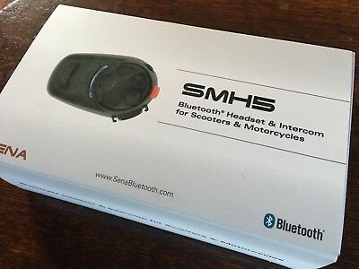 SENA SMH5 Bluetooth Headset & Intercom for Scooters and Motorcycles