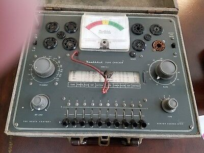 Vintage Heathkit Tc-2 Tube Tester Checker