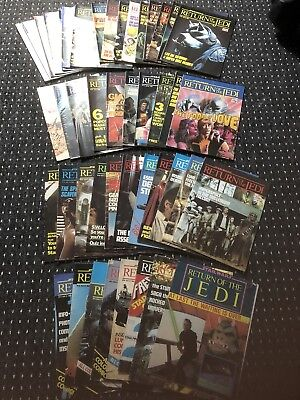 Original Bulk Of 45 Star Wars Return Of The Jedi Comics