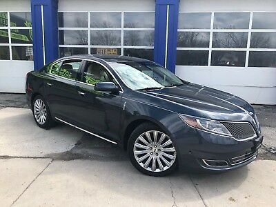 2013 Lincoln MKS Base Sedan 4-Door 2013 LINCOLN MKS AWD_PANO ROOF_HTD & COOLED MASSAGE CHAIRS_SYNC_REBUILT SALVAGE!