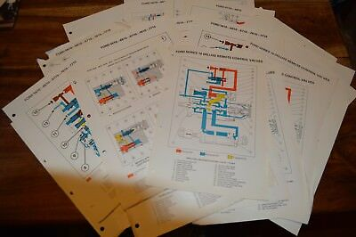 Ford 10 series Tractors Hydraulic Flow Charts Service Manual  (5)