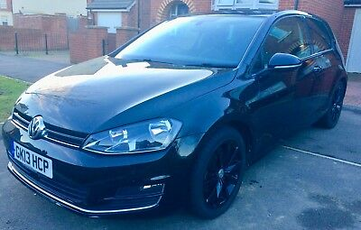 2013 (13) VOLKSWAGEN GOLF GT 2.0 TDI 150ps BLUEMOTION 3 DOOR IN BLACK