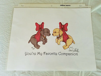 "DEAN GRIFF ""You're My Favorite Companion""  ARTWORK CHARMING TAILS  2004"