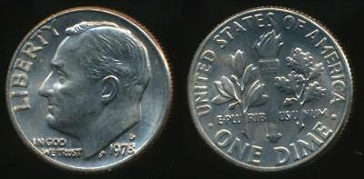 United States, 1978-D Dime, Roosevelt - Uncirculated