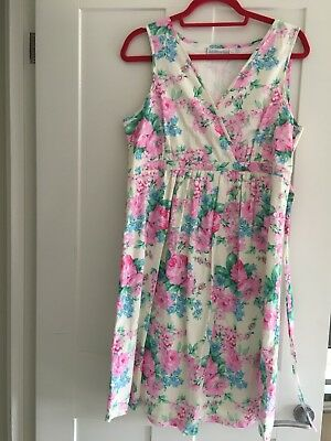 jojo maman bebe maternity dress size 12- summer/occasion. In excellent condition