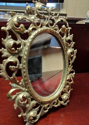 Virginia Metal Crafters ornate mirror or frame