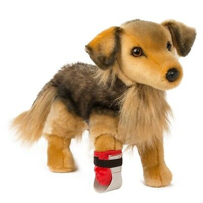 BINGLEY the LARGE Stuffed SHEPHERD MIX RESCUE PUP Plush - by Douglas Cuddle Toys