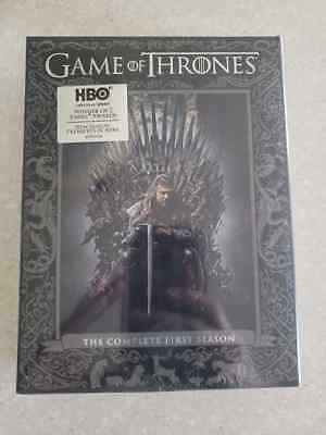 Game of Thrones: The Complete First Season (DVD, 2012, 5-Disc Set) SEASON 1 *NEW