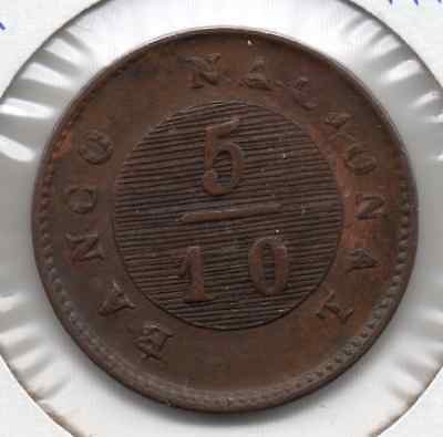 1828 Buenos Aires/argentina 5/10 Real **scarce**