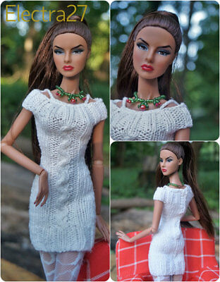 """Hand made Outfit for Fashion Royalty FR2 Nu Face Poppy Barbie doll 12"""""""