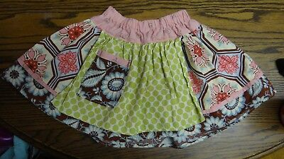 Girls Boutique Skirt Baby Toddler With Pocket - 2T
