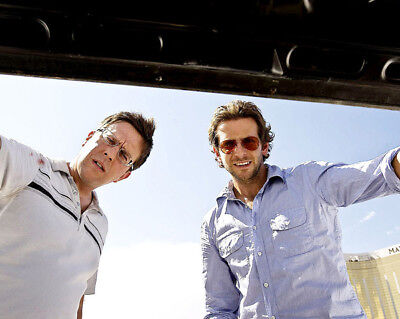 The Hangover UNSIGNED photograph - L9172 - Ed Helms and Bradley Cooper