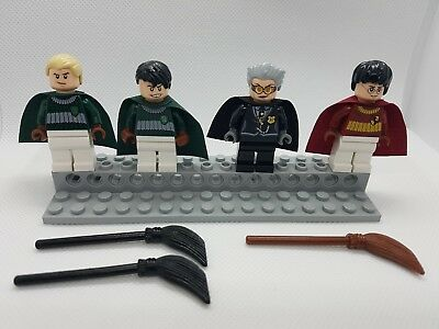 LEGO HARRY POTTER - lot of 4 minifigures from set 4737 QUIDDITCH MATCH