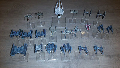 X-wing Miniatures Lot Tie Bomber Defender Phantom Punisher Advanced Starter Kit