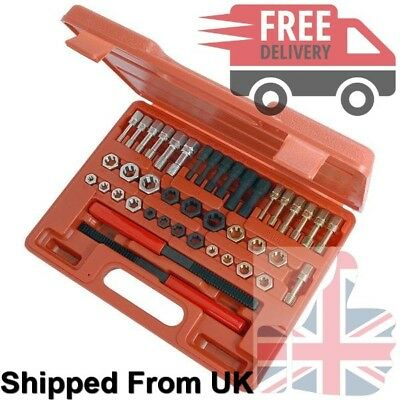 42 Piece Re-Threading Kit, Thread Repair, Metric & Imperial, NEW UK STOCK