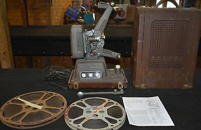 Vintage Projector Lamp, Revere S-16 Sound 16mm Movie Projector