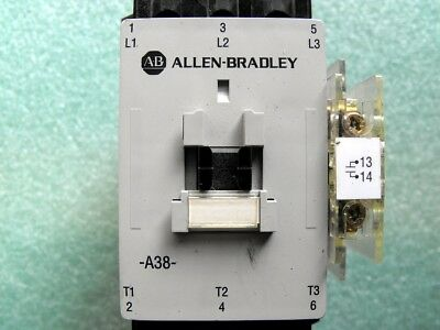 Allen Bradley contactor  100-A38N - Rated 30HP @ 575vac  -  unused condition -
