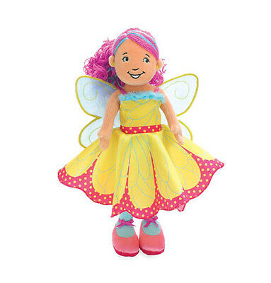 Groovy Girl Doll Becca Butterfly Special Edition Yellow Pink Manhattan Toy NEW