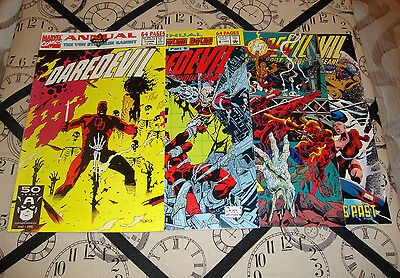 Daredevil Annual #7-10 (1991-94) Marvel Comic Lot Of 4 FN To FN+ Condition