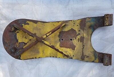 1957 Chevy Belair Used Original Continental Kit Spare Tire Bracket Carrier