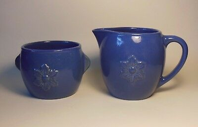 Red Wing Pottery Creamer And Sugar