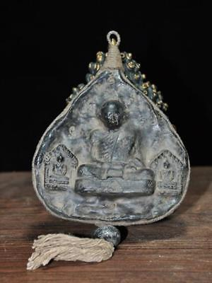 chinese hand-carved collect old incense ashes Buddha statue