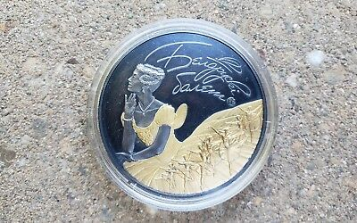 Belarus ballet 2015  20 Rubles Gold gilded antique finish Silver coin Coinart