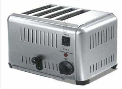New Classic Stainless Steel 220V 4-Slice Toaster 4000W Small Kichen Appliance py
