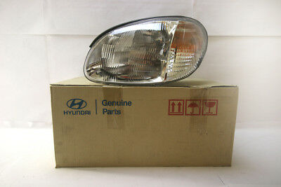 9210138090 Genuine Hyundai Sonata Left Hand Head Lamp/Light 5/98-4/01