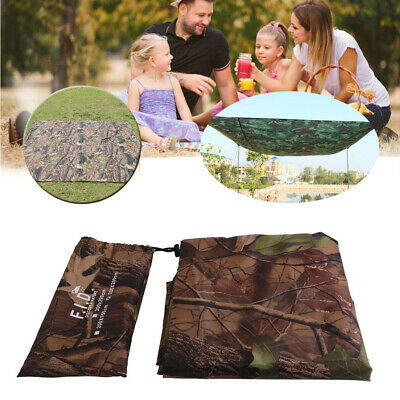 Practical Tarp Army Ultralight Sun Shelter Tent Hiking Camping Rain Cover Room