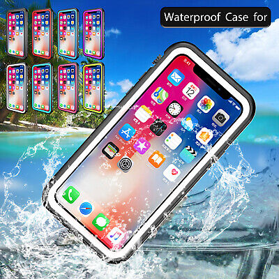 RED PEPPER Ultra Slim Waterproof Shockproof Case Cover For iPhone 6S 7 8 Plus X