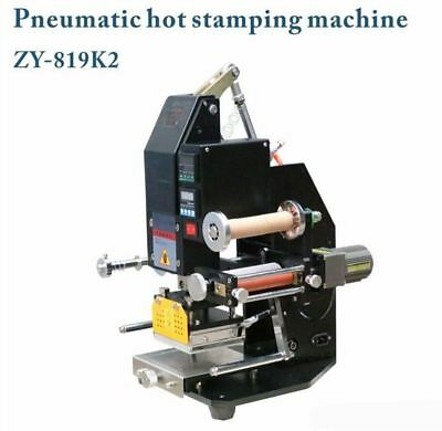 Pneumatic Hot Foil Stamping Machine 80X100MM High-Speed Semi-Automatic Stampe or