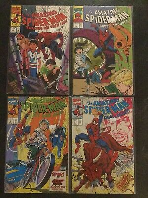 Amazing Spider-Man: Skating on Thin Ice #1, Double Trouble & more (1992, Marvel)
