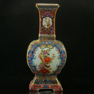 Chinese Enamel Porcelain Hand Painted  Vase Made During The Kangxi Period  RF007