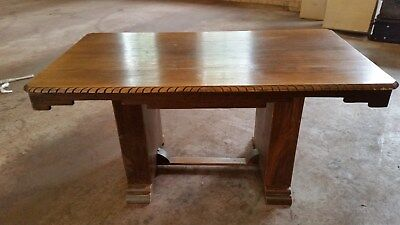 Fantastic Art Deco solid dining table