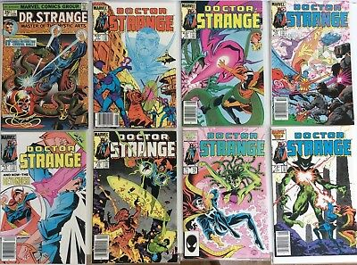 Doctor Strange comics lot ( includes Dr Strange #1 1974 )