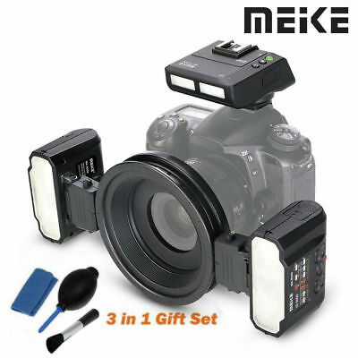 Meike MK-MT24 Macro Twin Lite Flash with trigger for Nikon Digital DSLR Camera L