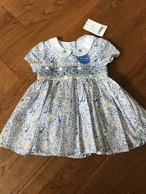 Baby Girls Frilly Summer Dress And Matching Knickers From Next BNWT 0-3 Months